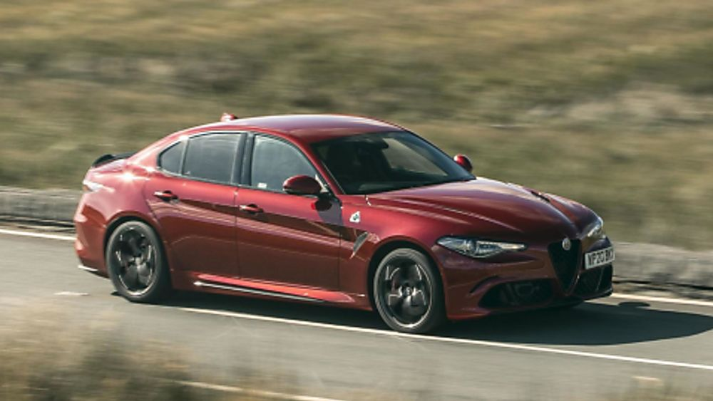 Alfa Romeo Giulia Quadrifoglio Verde On the Road