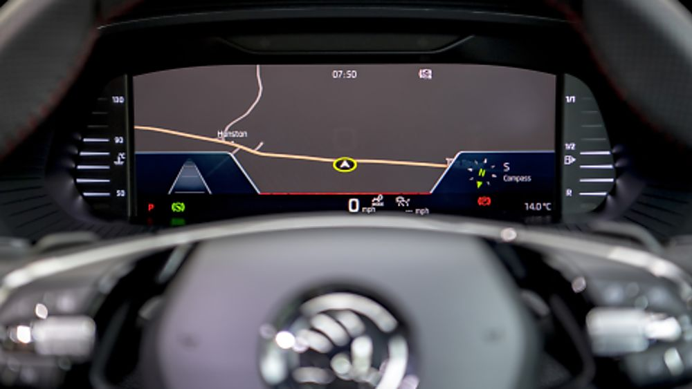 SKODA: The all-new Octavia vRS Cockpit