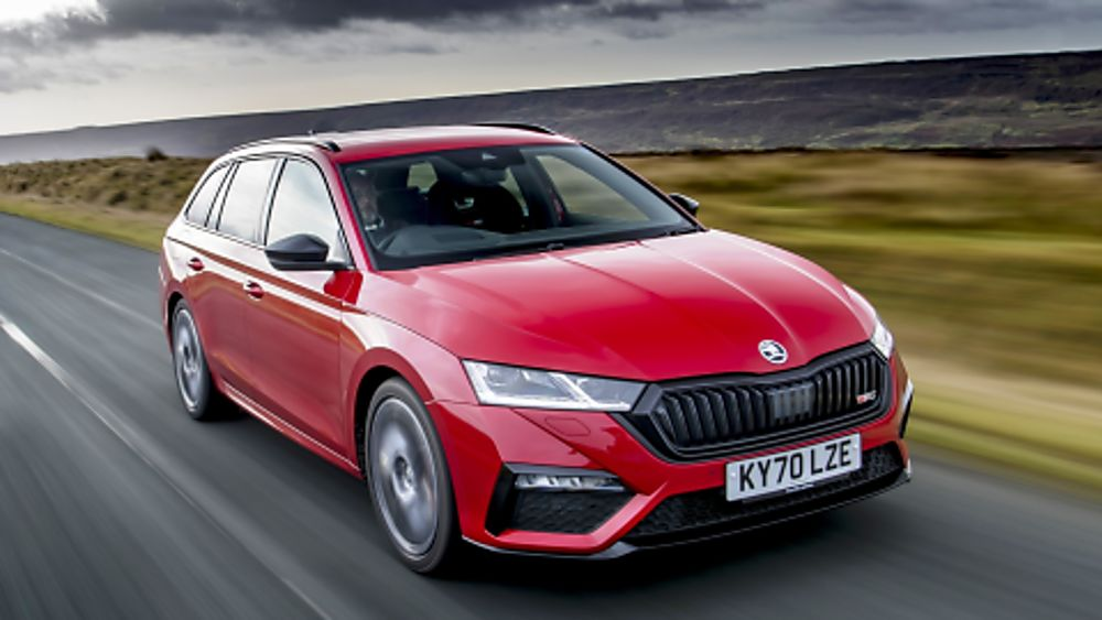 SKODA: The all-new Octavia vRS On the Road