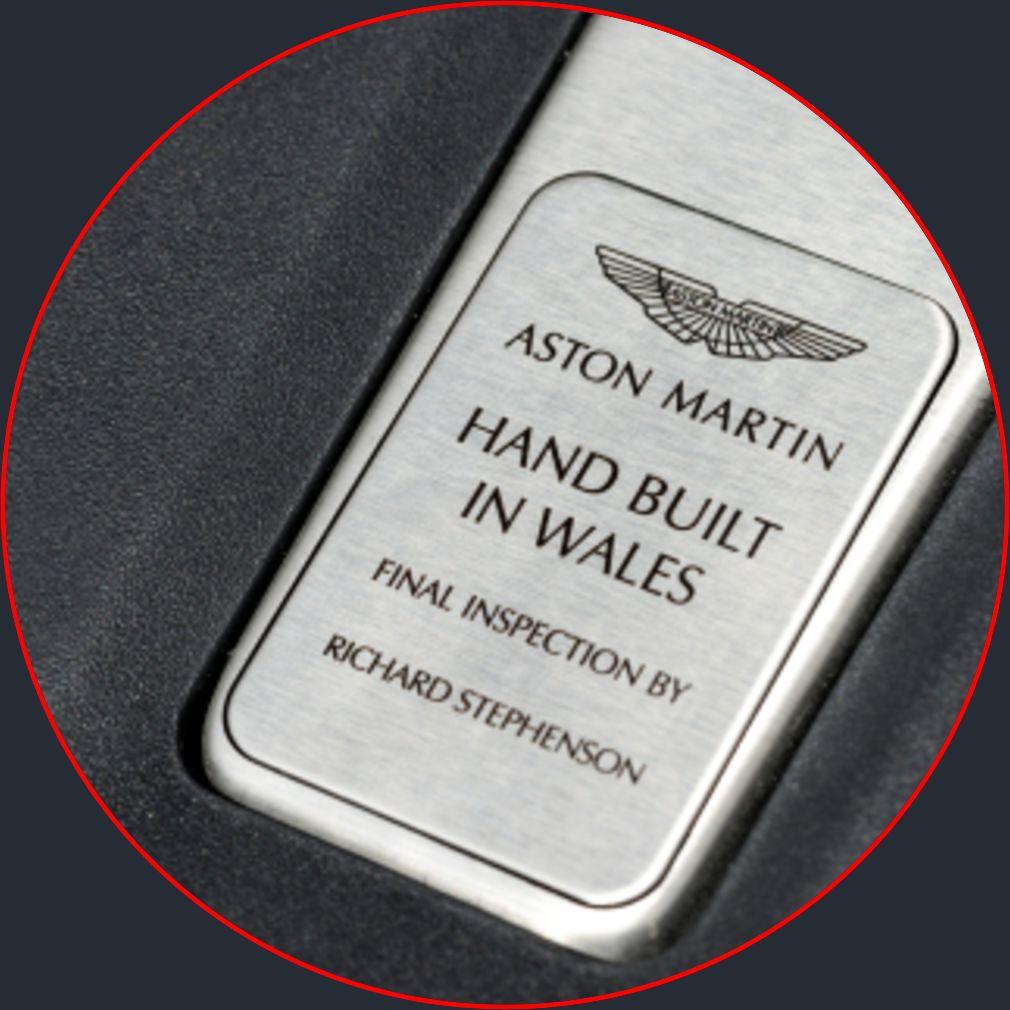 Aston Martin DBX Wales Emblem