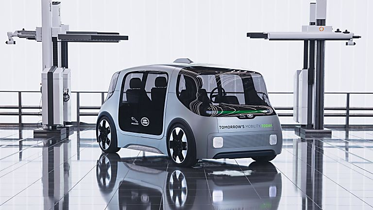 Jaguar Land Rover electric urban mobility concept