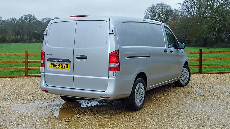 Mercedes Benz E-Vito Rear