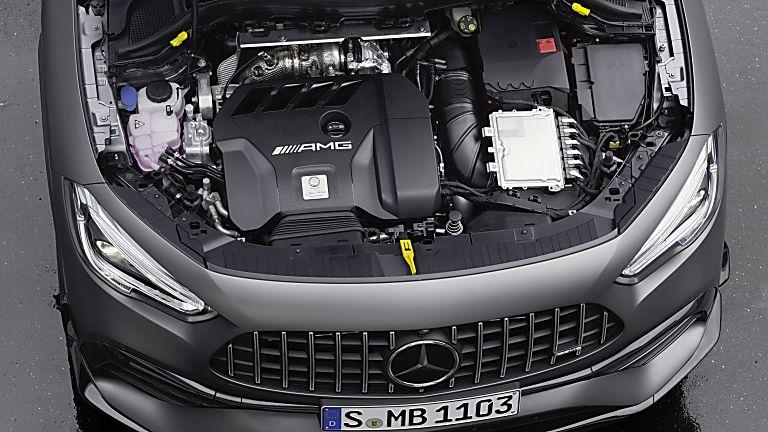 Mercedes-AMG A45S Engine