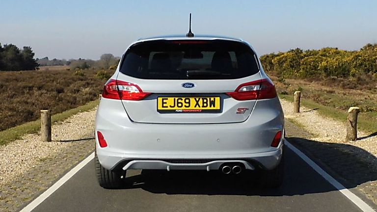 Ford Fiesta ST 5dr rear boot view