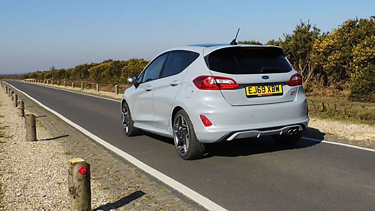 Ford Fiesta ST 5dr rear angle