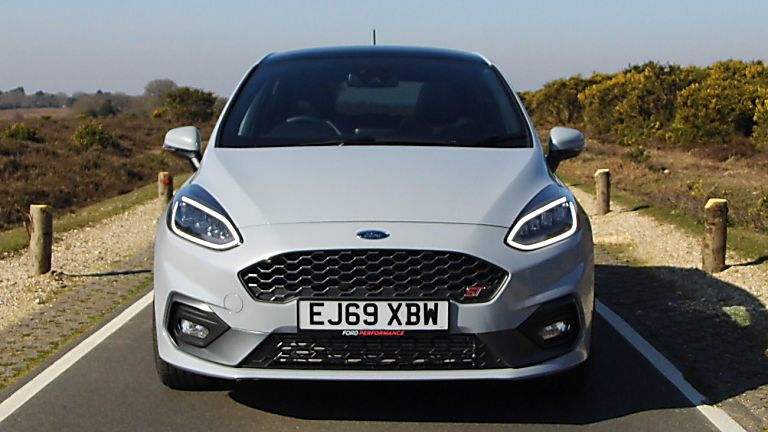 Ford Fiesta ST 5dr front grill and headlights