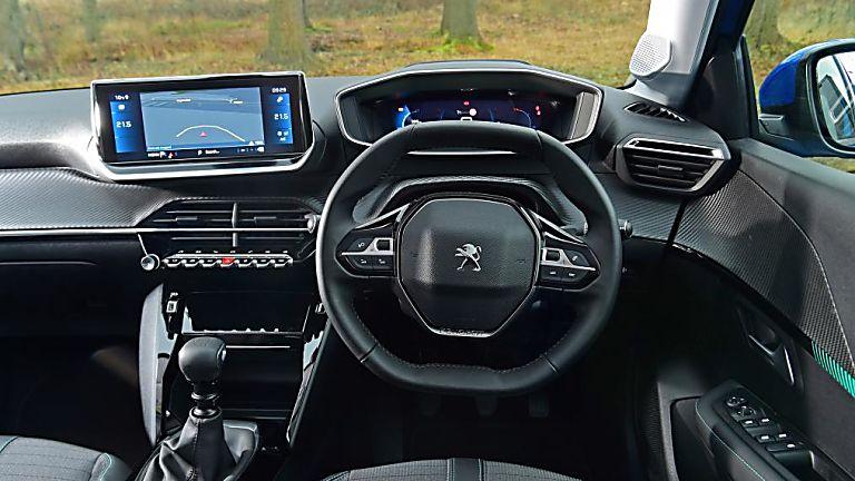Peugeot 208 Inside Cockpit