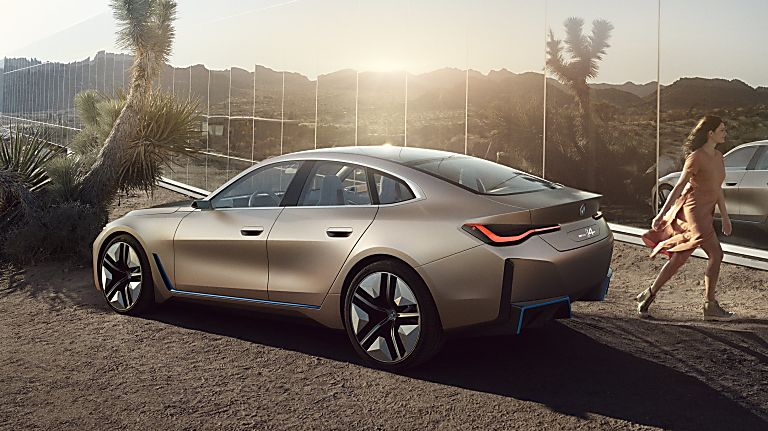 BMW i4 Rear