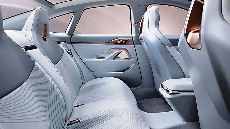 BMW i4 Inside Rear