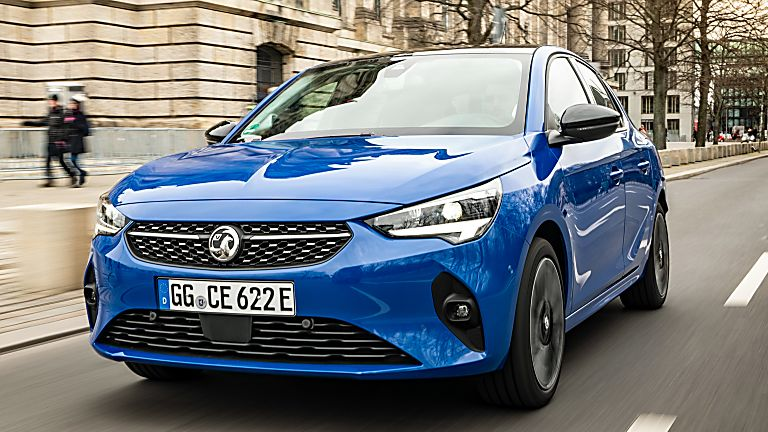 Vauxhall Corsa-e Front