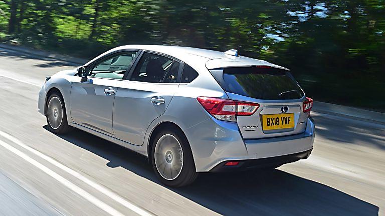 Subaru Impreza Rear In-situ