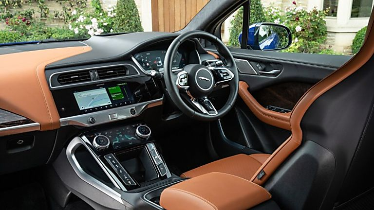Jaguar I-Pace Interior Front