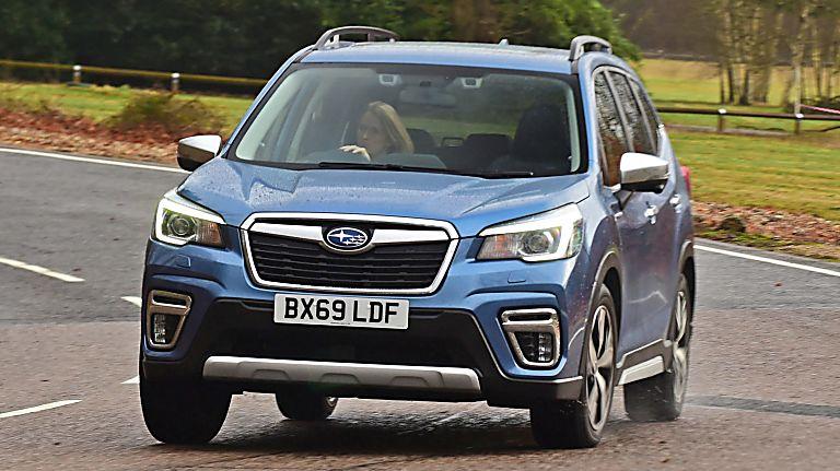 Subaru Forester e-Boxer MHEV On the Road