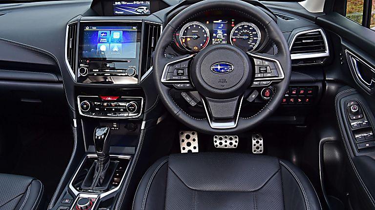 Subaru Forester e-Boxer MHEV Dashboard