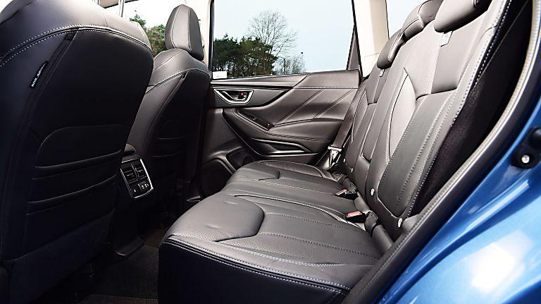 Subaru Forester e-Boxer MHEV Interior Rear