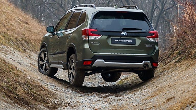 Subaru Forester e-Boxer MHEV Exterior