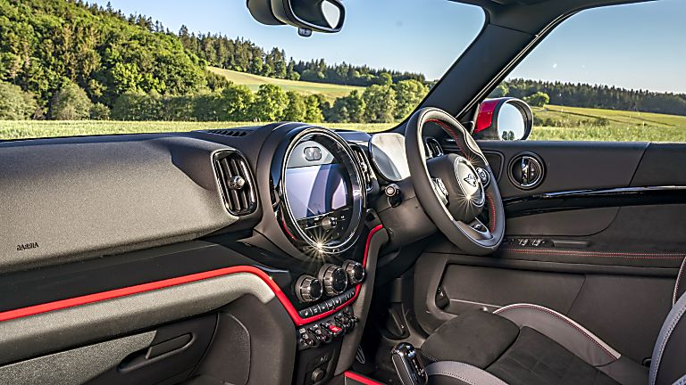 John Cooper Works interior Facelift