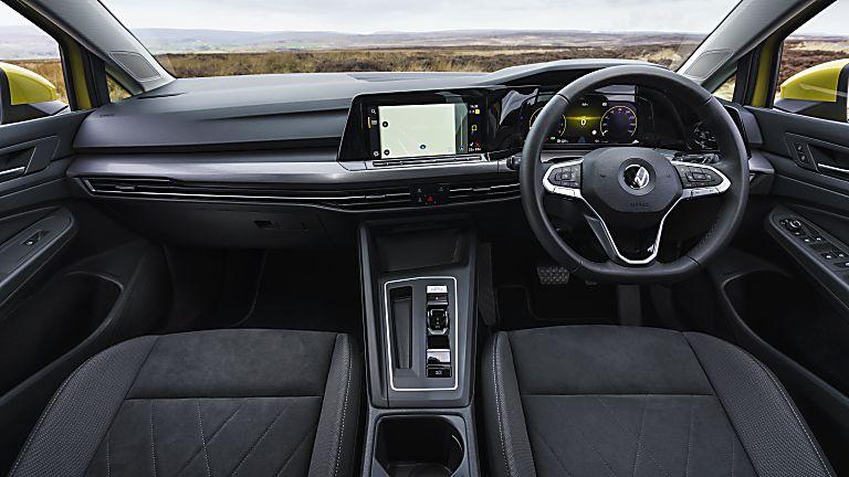 Volkswagen Golf Mk8 front passenger interior