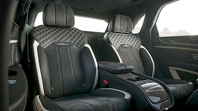 BENTLEY: 2021 Bentayga Speed interior