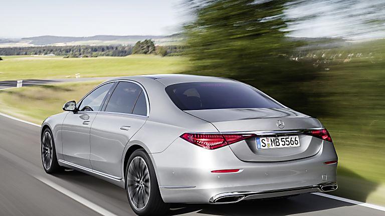 New Mercedes-Benz S Class Rear