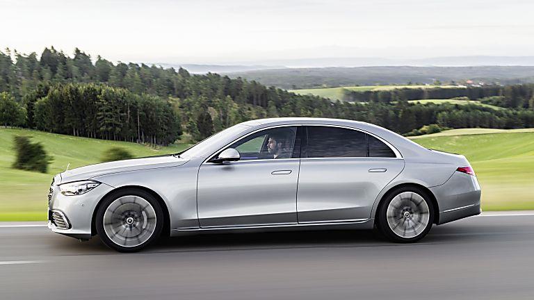 New Mercedes-Benz S Class Side