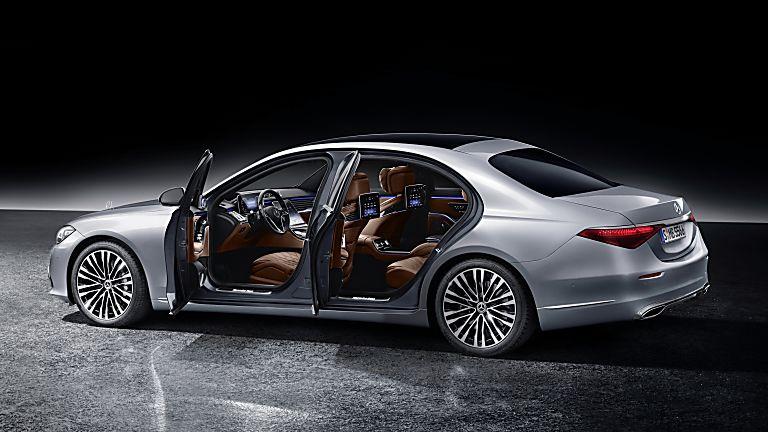 New Mercedes-Benz S Class Side Open