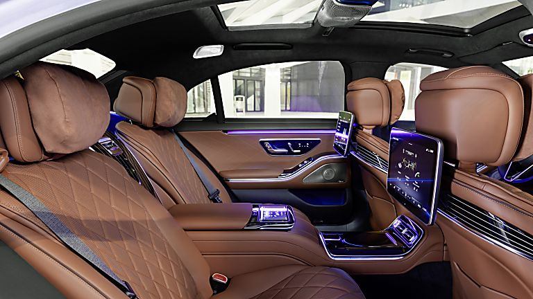 New Mercedes-Benz S Class Interior Rear