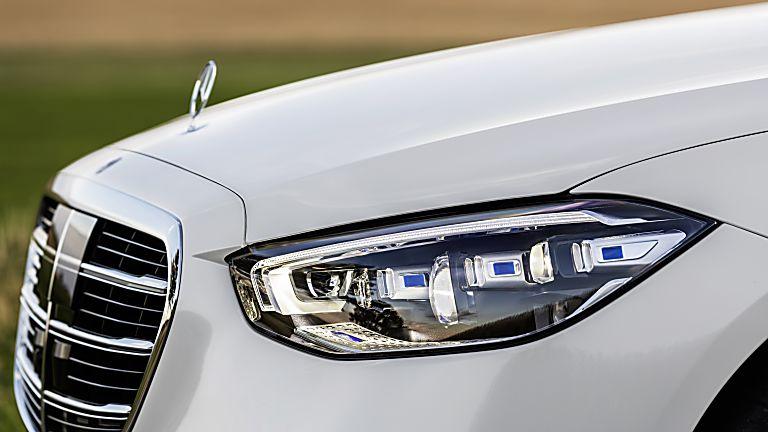 New Mercedes-Benz S Class Headlights