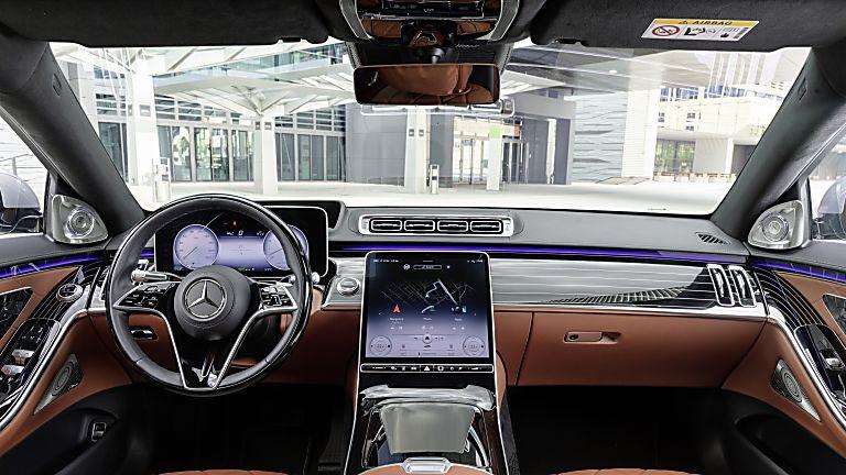 New Mercedes-Benz S Class Dashboard