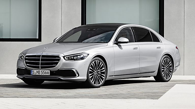 New Mercedes-Benz S Class Front