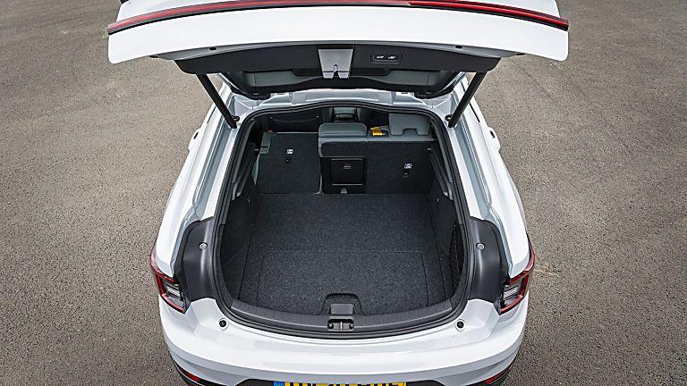 Polestar 2 rear boot space