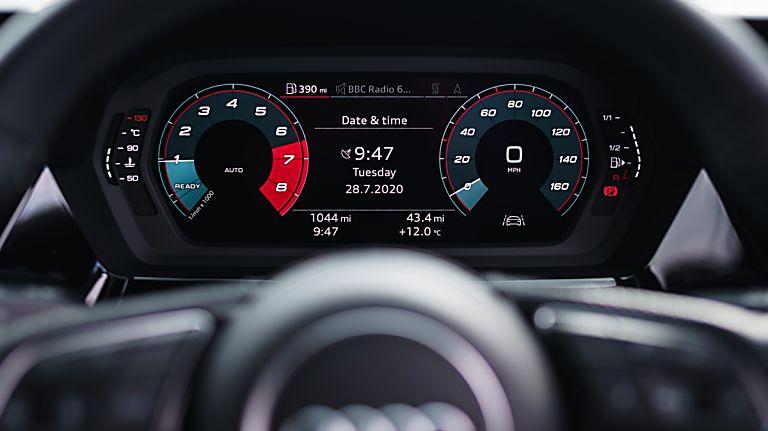 Audi A3 New Virtual Cockpit