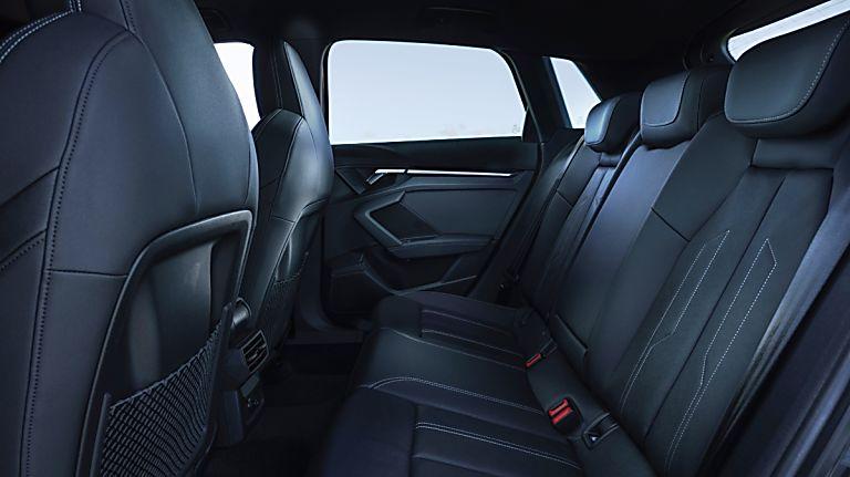 Audi A3 New Virtual Interior Rear Seats