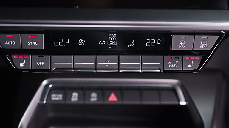 Audi A3 New Virtual Controls