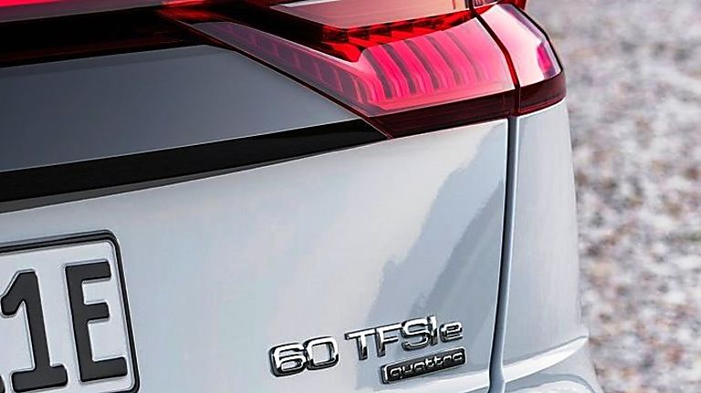 Audi Q8 SUV Badge