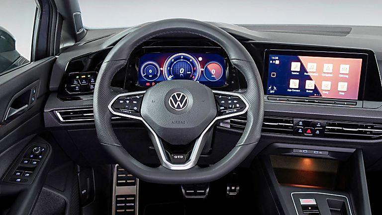 Volkswagen Golf GTD 2020 New Interior Dashboard
