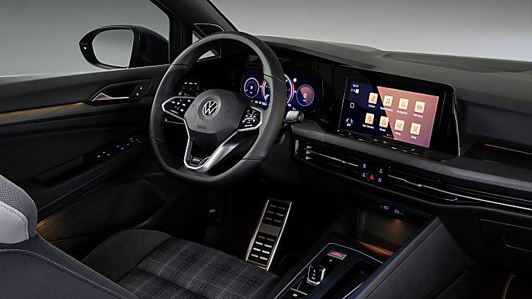 Volkswagen Golf GTD 2020 New Interior Front