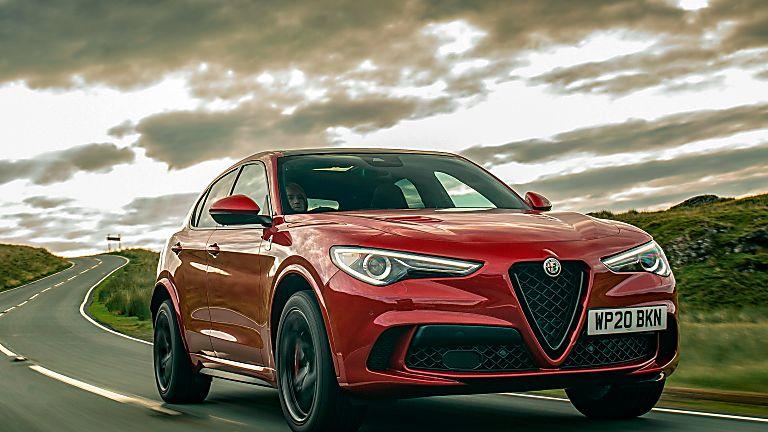 Alfa Romeo Stelvio Quadrifoglio Verde Front