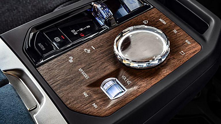New BMW iX EV 2020 Center Console