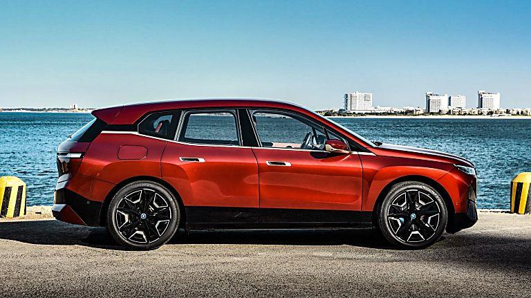 New BMW iX EV 2020 Side