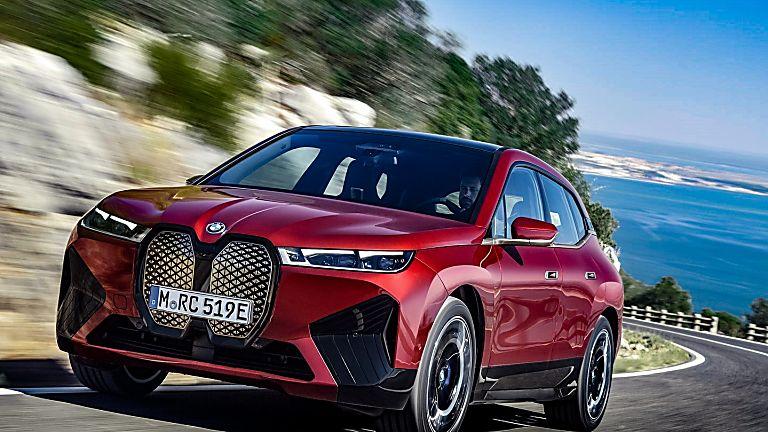 New BMW iX EV 2020 Hero