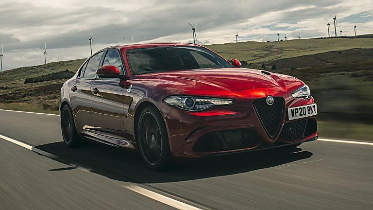 2020 Alfa Romeo Giulia Quadrifoglio Verde Hero