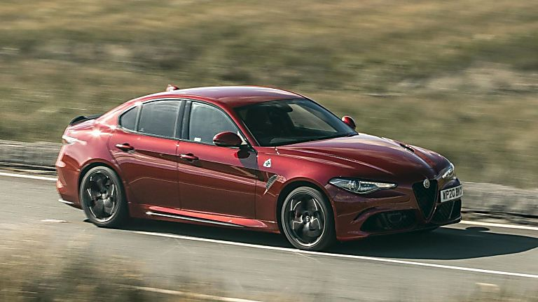 2020 Alfa Romeo Giulia Quadrifoglio Verde On the Road