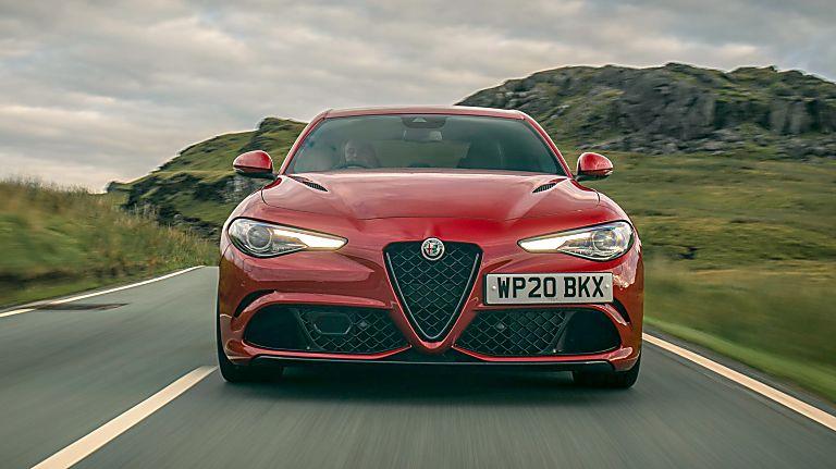 2020 Alfa Romeo Giulia Quadrifoglio Verde Front