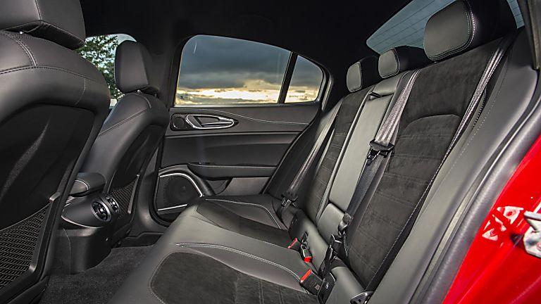 2020 Alfa Romeo Giulia Quadrifoglio Verde Interior Rear