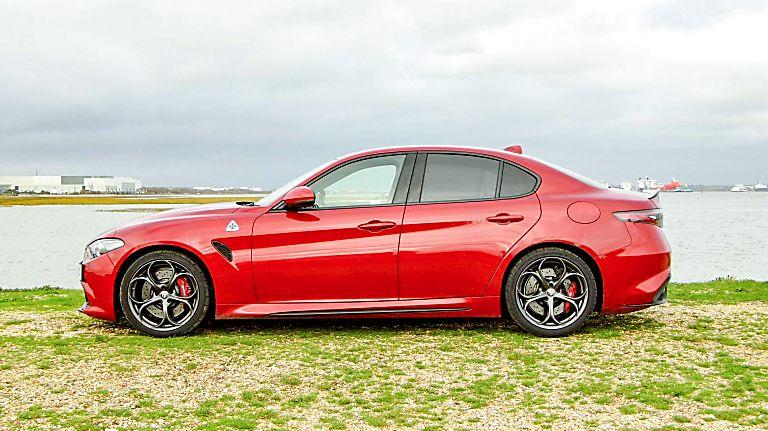 2020 Alfa Romeo Giulia Quadrifoglio Verde Side