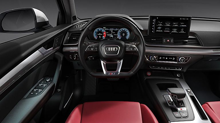 AUDI: Refreshed SQ5 TDI Cockpit