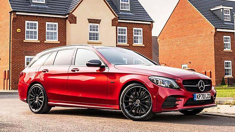 2020 Mercedes-Benz C 300 e PHEV Estate Front Right