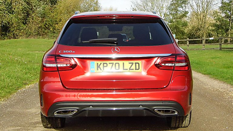 2020 Mercedes-Benz C 300 e PHEV Estate Rear