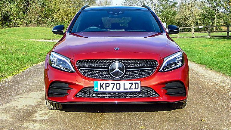 2020 Mercedes-Benz C 300 e PHEV Estate Front